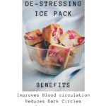 De-stressing Ice Pack (149rs 8 cubes)